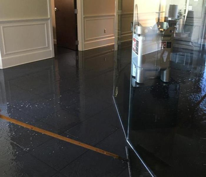 Water Damage in Fairhope, AL Before